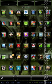 Black Pegasus 01 theme screenshot