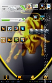 Lamborghini 17 theme screenshot