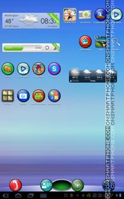 Colorful Circles 01 theme screenshot
