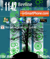 Darktree theme screenshot