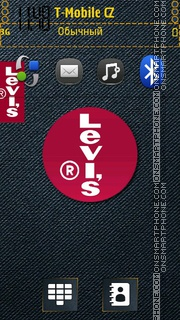 Levis theme screenshot