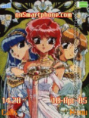 Magic Knight theme screenshot