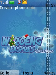 Waroeng Express Christmas theme screenshot