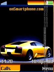 Lamborghini 18 tema screenshot