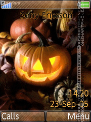 Halloween Vol1 01 tema screenshot