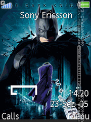 Dark Knight 09 theme screenshot