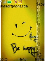 Be Happy 11 es el tema de pantalla
