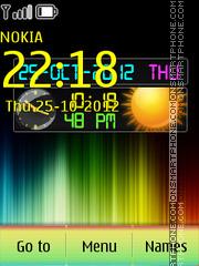 Скриншот темы Colorfull Dual