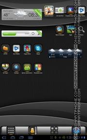 Capture d'écran Fusion 01 thème