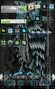 Owl 04 tema screenshot
