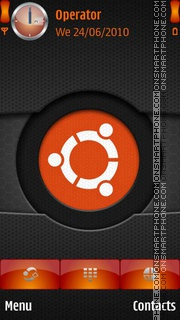 Ubuntu Logo theme screenshot