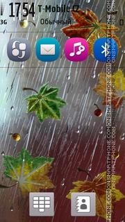Feel the rain S60 es el tema de pantalla