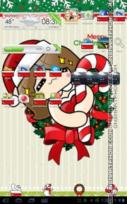Happy Xmas 01 tema screenshot