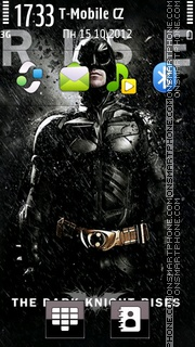 Dark Knight 10 theme screenshot