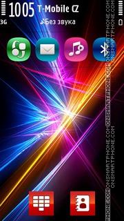 Colours Strike es el tema de pantalla