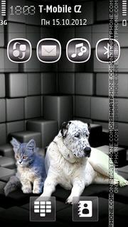 Capture d'écran Friends v5 thème