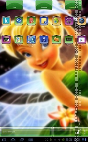 Tinkerbell Two theme screenshot