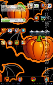 Halloween Theme 01 tema screenshot