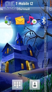 Halloween 2026 tema screenshot