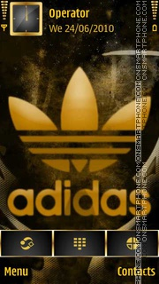 Скриншот темы Adidas Logo