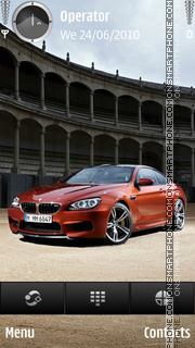 BMW M6 theme screenshot