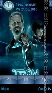 Tron Legacy es el tema de pantalla