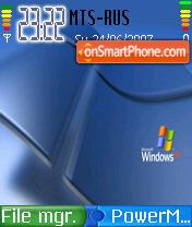 Windows XP 07 theme screenshot