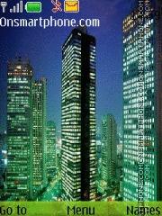 Night City tema screenshot