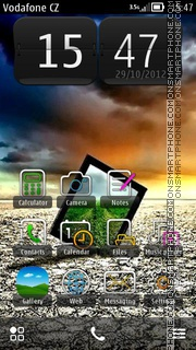 Samsung Hd theme screenshot