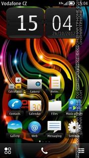 Nokia HD 01 theme screenshot