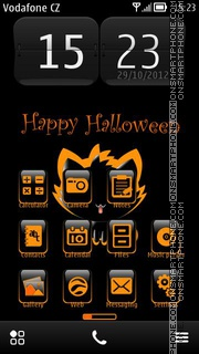 Happy Halloween 12 tema screenshot