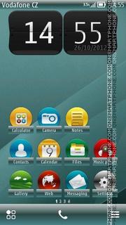 Nexus Belle 01 es el tema de pantalla