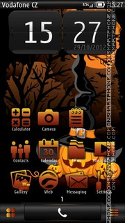 Pumpkins 02 tema screenshot
