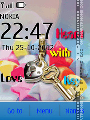Love Key 02 theme screenshot
