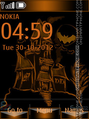 Halloween Special tema screenshot