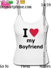 Boyfriend tema screenshot