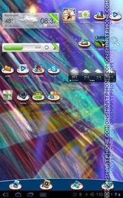 Tin Fish tema screenshot
