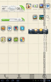 Sketch Theme theme screenshot