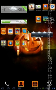 Halloween 2027 tema screenshot