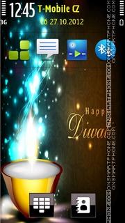 Happy Diwali 2014 theme screenshot