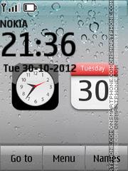 iPhone 4s es el tema de pantalla