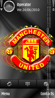 Manchester United tema screenshot