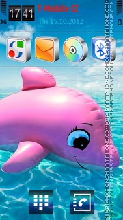 Dolphin 05 theme screenshot