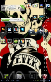 Rock and roll tema screenshot