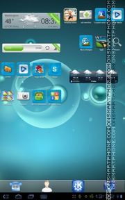 KDE Lovers tema screenshot