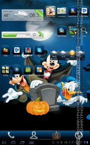 Disney halloween theme screenshot