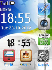 iPhone 5 Adobe Vers theme screenshot
