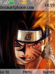 Naruto theme screenshot