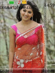 Anushka Shetty 03 theme screenshot