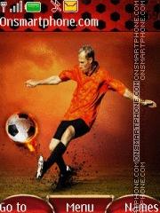 Soccer 03 theme screenshot